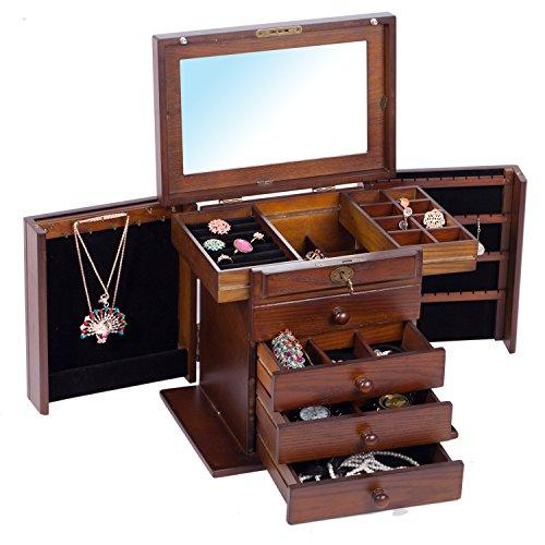 rowling-boite-a-bijoux-en-bois-mallette-coffret-a-bijoux-brun-heritage-boite-a-bijoux-ancienne-mg002