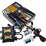 JINYJIA 12V 55W Xenon HID Conversion Kit Headlight for Car Vehicle Replacement Bulb, 9003=H4(High/Low)/6000K