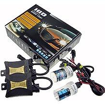 JINYJIA 12V 55W HID Xenon Kit de Conversión Faro Vehículo Car Lámpara de Repuesto, H7 / 6000K