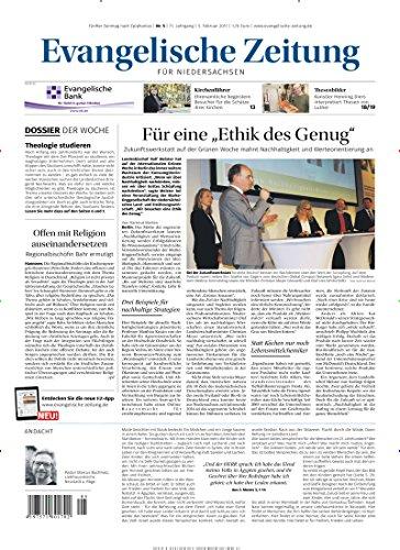 Evangelische Zeitung für Niedersachsen [Jahresabo]