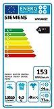 Siemens IQ100 WM14B222 Waschmaschine / 6,00 kg / A+++ / 153 kWh / 1.400 U/min / Schnellwaschprogramm / 15-Minuten Waschprogramm / Hygiene Programm / - 2