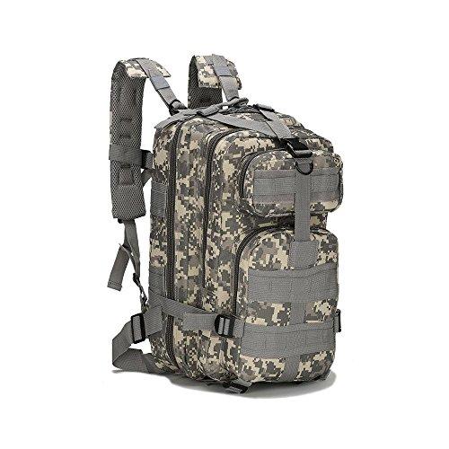 HTWYF Taktische Schulter Outdoor Bergsteigen Tasche Military Camping Rucksack Outdoor Sport Rucksack acu camouflage