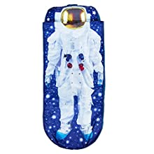 I am Astronaut Junior ReadyBed - Kids Airbed and Sleeping Bag in one - Blue