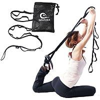 Benificer Yoga Gurt Multi-loop für Stretching und Widerstandstraining, Stretch-Gurt Ideal für Fitness Pilates & Eignung-Training