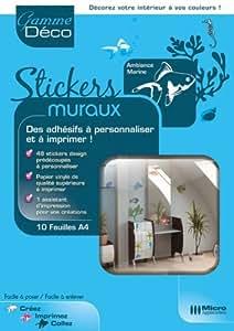 Stickers Muraux - Ambiance marine