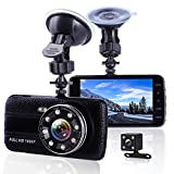 Car Camera Dash Cam Front and Rear Dual Camera, Superior...