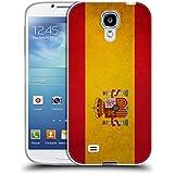 Head Case Designs Español De España Banderas Vintage Caso de Gel Suave para Samsung Galaxy S4 I9500