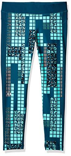 Under Armour Damen Hg Armour Printed Legging, Mehrfarbig (Teal-717), M -