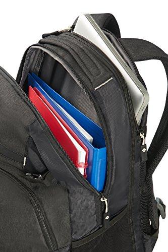 Samsonite Rewind - Sac à Dos pour Ordinateur Portable Extensible, 45 cm, 34 L, Noir (Black)