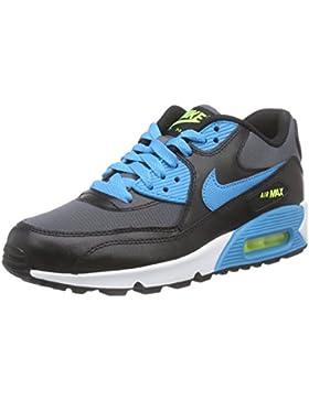Nike Air Max 90 Mesh (GS) Zapatillas de Running, Niños