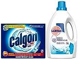 Calgon & Sagrotan Waschmaschinen-Pflegeset für einen Monat mit 2 Artikeln