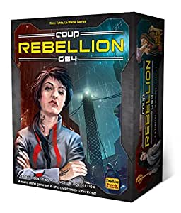"Indie Board & Card Games IBG0CO03 - Brettspiel ""Coup Rebellion G54"""
