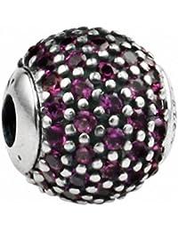 TAOTAOHAS Antico Argento Sterlina Decorativo Charms Beads Perline [passione]