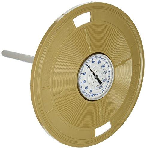 Pentair L4B 9–3/16Zoll Mandel rund Deckel Ersatz Pool und Spa Skimmer mit Thermometer