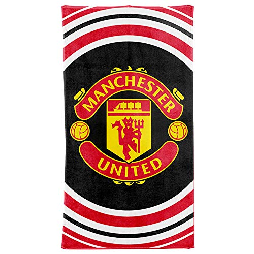 MUFC Badetuch Manchester United, 100% Baumwolle, 70 x 140 cm - United Manchester