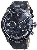 Cerruti 1881 Herren-Armbanduhr VOLTERRA Analog Quarz Leder CRA104SUB02GY