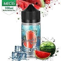 IMECIG® Eiswassermelone E Liquid für E Zigaretten/E Shisha, 70VG/30PG Vape Eliquids, ohne Nikotin