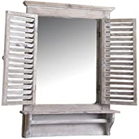 Finestre in legno specchi da parete specchi - Specchi da parete amazon ...