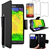 ebestStar - Compatible Coque Samsung Galaxy Note 3 Lite SM-N7505 Etui PU Cuir Housse...