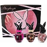 Playboy Play It Sexy VIP Set for Women: 3x Eau De Toilette Spray - 30ml each