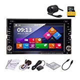 6.2 Zoll-Digital-Bildschirm-Steuergerät Win 8 Car Stereo in Dash Autoradio Bluetooth 2 DIN Auto-DVD-CD-Video-Player Unterstützung USB / SD Aux FM AM-Empfänger GPS-Navigation Auto PC 800MHZ CPU
