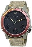 Nixon hombre-reloj noorsk SW Boba Fett Red/Gray analógico de cuarzo cuero A506SW2241-00