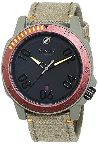 nixon-hombre-reloj-noorsk-sw-boba-fett-red-gray-analogico-de-cuarzo-cuero-a506sw2241-00