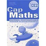Cap Maths CE2 : Matériel photocopiable fichier d'entraînement