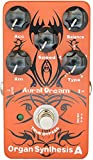 Aural Dream Organ Synthesis A Guitar Effects Pedal with Rock,Bluse,Reggae and Rockband organ including Rotary Horn similar B3 organ effect, True Bypass