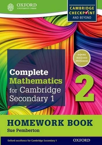 Complete Mathematics for Cambridge Lower Secondary Homework Book 2 (Pack of 15): For Cambridge Checkpoint and beyond (Cie Checkpoint)