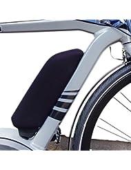 NC-17 E-Bike Akku Schutzhülle / Batterie Thermo Cover für Bosch oder Yamaha Rahmenakku, Bosch Gepäckträgerakku / Neopren / Schwarz