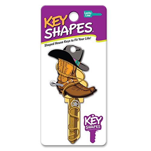 LUCKY LINE - KW1 Cowboy Key Blank
