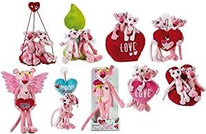 Lelly Surtido de Peluche de San Valentín Panther (Rosa)