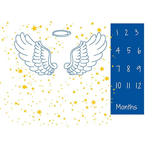 WESEEDOO Meilenstein Decke Monatliche Fotografie Requisiten Wiederverwendbare Hintergrund Monats Baby Fotoshooting -