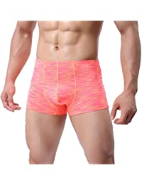 ZARLLE Ropa Interior Sexy Shorts Suave Transpirable Verano Nueva Ropa Interior Calzoncillos Boxers Calzoncillos Transpirables…