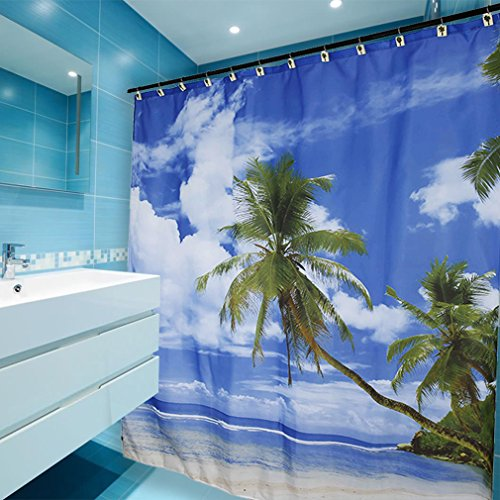 kinlor-duschvorhang-palm-beach-motiv-anti-schimmel-effekt-waschbar-wasserdicht-badvorhang-180x180-cm