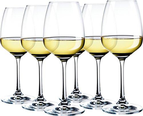 Domestic Professional by Mäser, Serie Celeste, per ogni occasione Calice da vino bianco, 34 cl