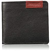 Hidesign Black Men's Wallet (Hidesign Mens Wallet Uranus W1SBRF Black)