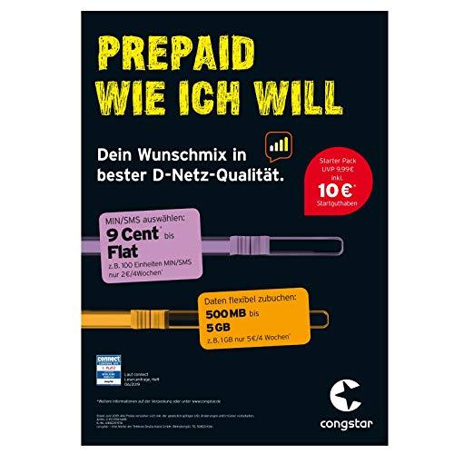 congstar Starterpaket \'\'Wunsch-Mix\'\'
