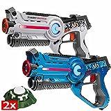 Best Laser Tag Guns - Laser tag game for kids: 2 lasertag guns Review