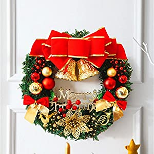 30cm Guirnalda de Navidad,GZQES, Hermosas
