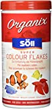 Söll 16147 Organix Super Colour Flakes - Aquariumfutter - Zierfischfutter - Flockenfutter - 490 ml