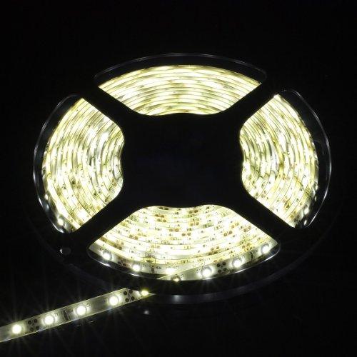 3528 SMD Blanco fresco impermeable los 5M 300Leds. Tira LED de luz de lámpara. + Dimmer LD124