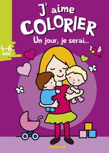 J'aime colorier (4-6 ans) par Collectif