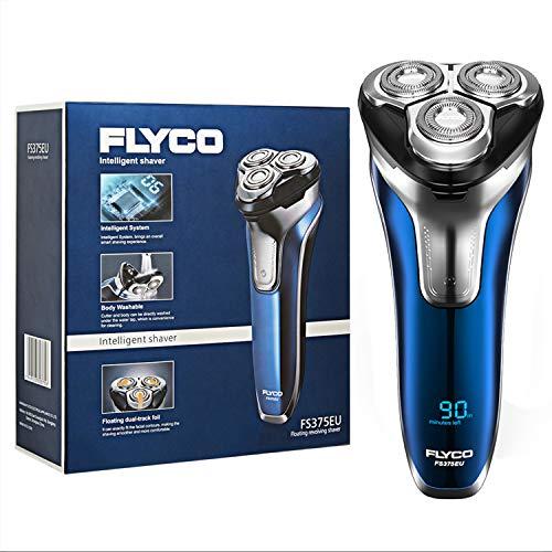 Afeitadora electrica barba para hombre rotativa FS375EU FLYCO
