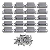 Yibuy 20Push to Open Magnetschnäpper mit Schrauben für Schrank Tür Schublade