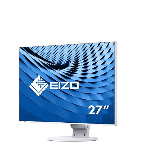 Eizo EV2785-WT 68,4 cm (27 Zoll) Monitor (HDMI, USB 3.1 Typ C, DisplayPort, 5ms Reaktionszeit, 3840 x 2160 (4K UHD)) weiß