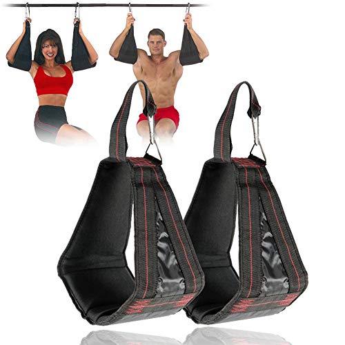 Blinking Stars AB Sangles de Suspension pour Exercices abdominaux et Traction inversée, Barre de Traction, Sangles de Musculation