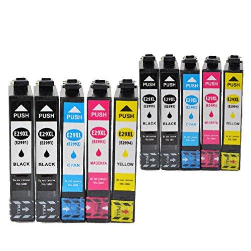 10x Drucker Patronen IBC für Epson PK 29 XL Expression Home XP 235 XP 245 XP247 XP332 XP342 XP345 XP 432 XP435 XP442 NEU Tinte Drucker Epson