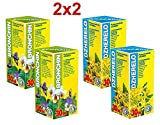 2x2 Bronchin + Dzherelo Phyto Concentrates - Intensive Course - Natural Plant Extracts - Effective Chesty Cough, Bronchitis Relief + Powerful Immune Booster